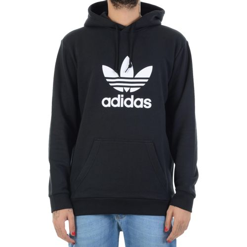 Moletom-Adidas-Trefoil-Hoodie-preto