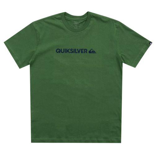 Camiseta-Quiksilver-Juvenil-Institucional-QK-Verde