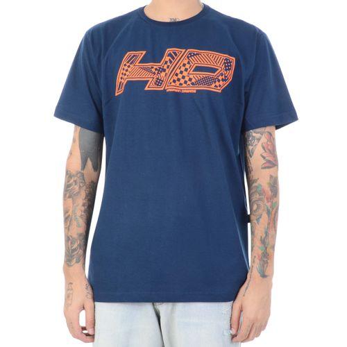 Camiseta-HD-Estampa-Formas-Marinho