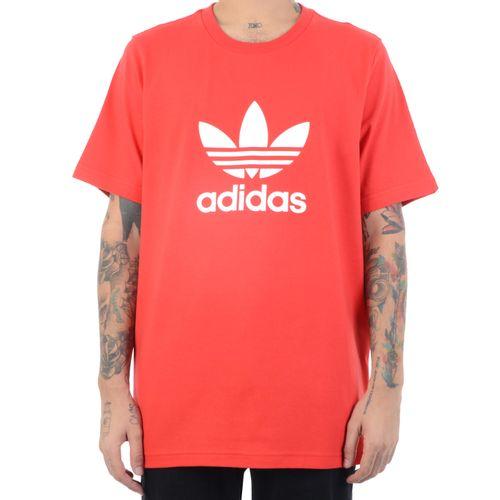 Camiseta-Adidas-Logo-Trefoil-Vermelho
