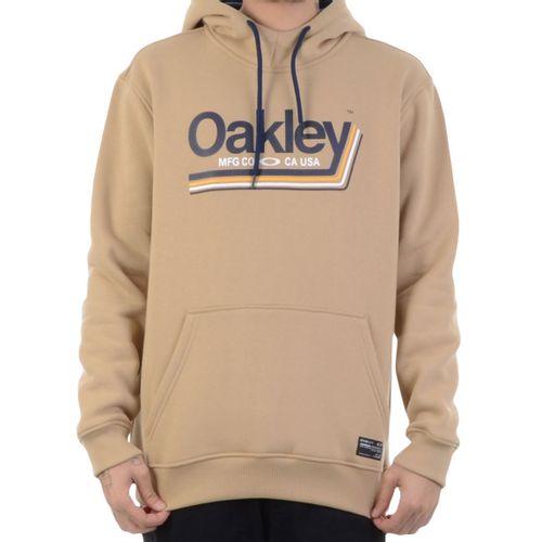 Moletom-Oakley-Tractor-Label-Hoodie-Almond-Bege