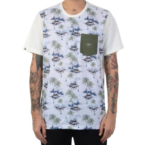 Camiseta-Okdok-Island-Verde