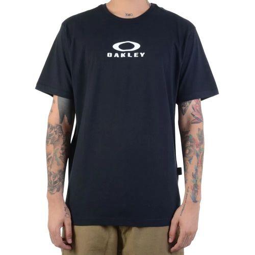 Camiseta-Oakley-Bark-New-Preto