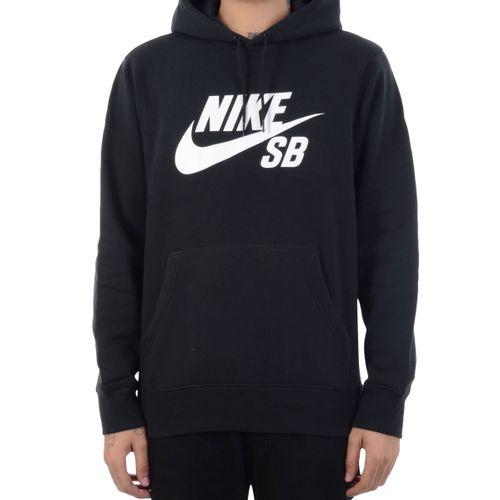 Moletom-Nike-SB-Canguru-Preto