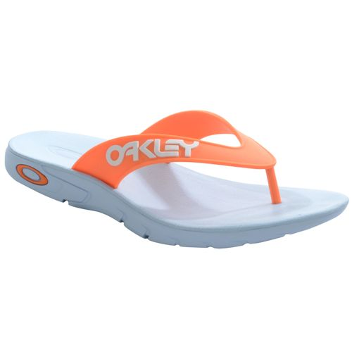 Chinelo-Oakley-Rest--Mark-II-Azul-e-Laranja