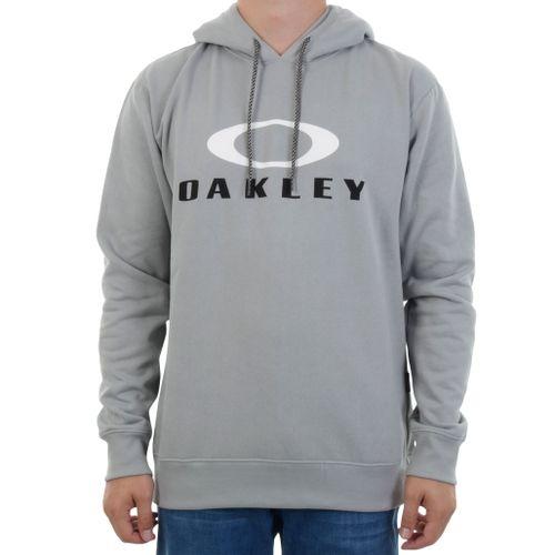 Moletom-Oakley-Dual-Hoodie-Stone-Grey