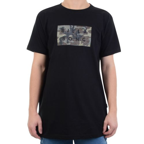 Camiseta-Billabong-Die-Cut-Preto