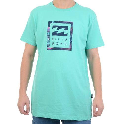Camiseta-Billabong-United-Stacked-Verde
