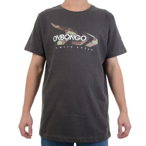 Camiseta-Onbongo-Camo-Chumbo