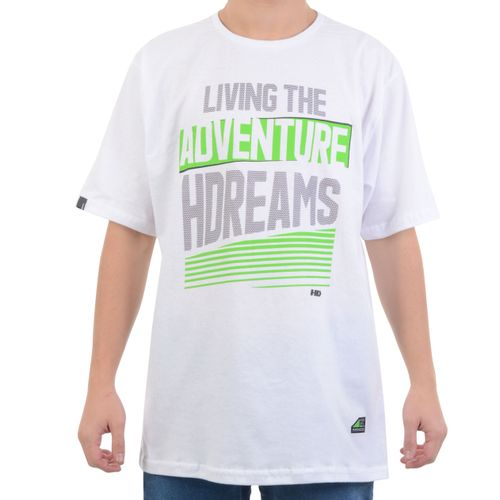 Camiseta-HD-Living-The-Adventure-Branco