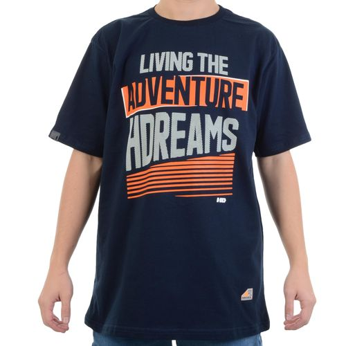 Camiseta-HD-Living-The-Adventure-Marinho