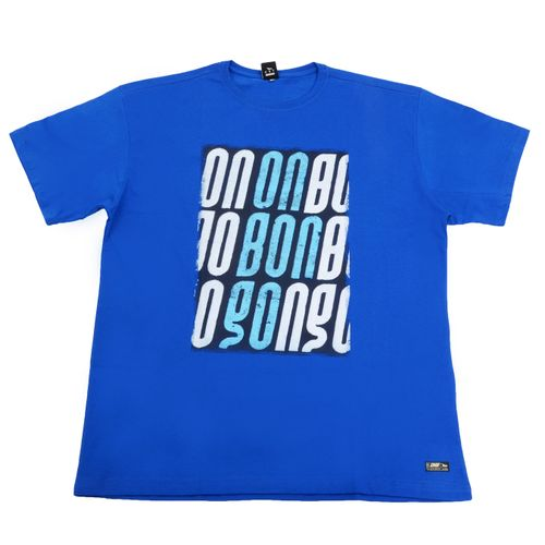 Camiseta-Onbongo-Sign-Logo-BIG-Azul