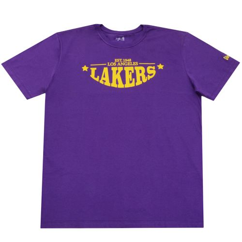 Camiseta-New-Era-NBA-College-Convex-Letter-Lakers-BIG-Roxo