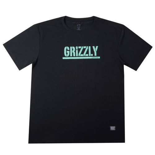 Camiseta-Grizzly-Logo-Stamped-Tee-Big-Preto
