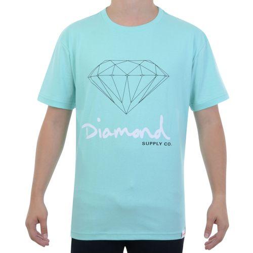 Camiseta-Diamond-OG-Sign-Tee-Azul