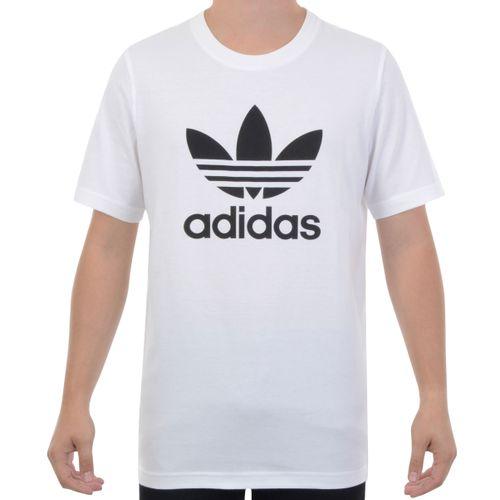 Camiseta-Adidas-Trefoil-Branco