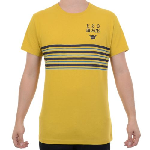 Camiseta-Hang-Loose-Stripe-Amarelo