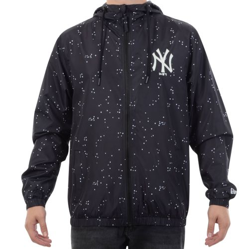 Jaqueta-Corta-Vento-New-York-Yankees-Rave-Space-Glow-Preto
