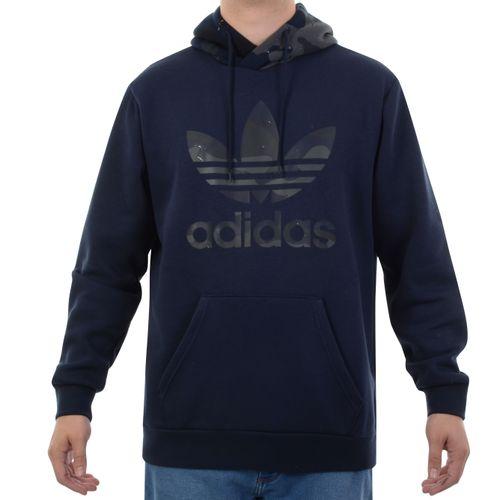 Moletom-Adidas-Camo-Hoody-Marinho