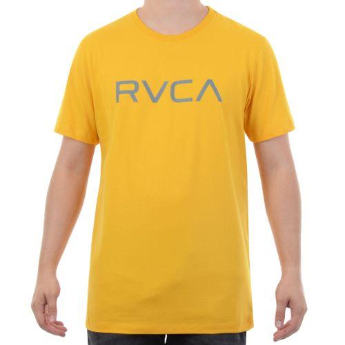 Camiseta-RVCA-Logo-Classica-Amarelo