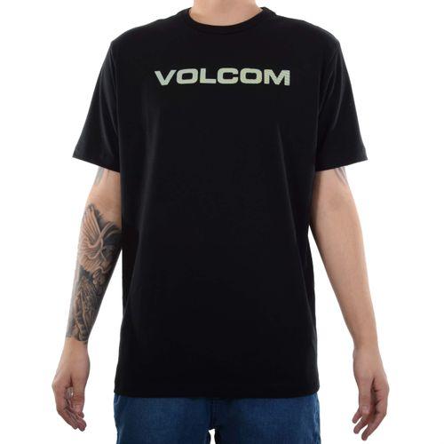 Camiseta-Volcom-Euro-Preto