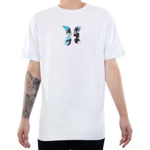 Camiseta-Hurley-Icon-Palmer-Branco