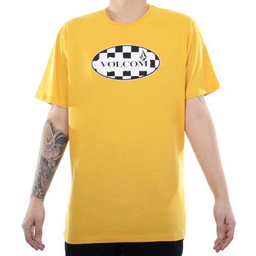 Camiseta-Volcom-Menial---AMARELO