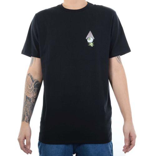 Camiseta-Volcom-Retnation---PRETO