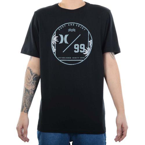 Camiseta-Hurley-Ninety-Preto