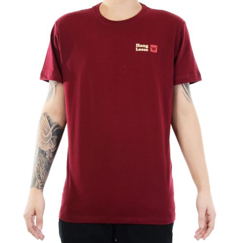 Camiseta-Hang-Loose-Glassy-Vermelho