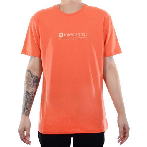 Camiseta-Hang-Loose-Lettering-Coral