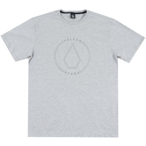 Camiseta-Volcom-Rimstone-BIG-Cinza