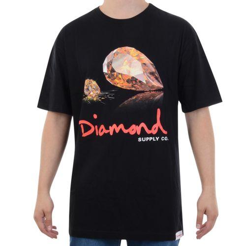 Camiseta-Diamond-Mirror-Tee-Preto