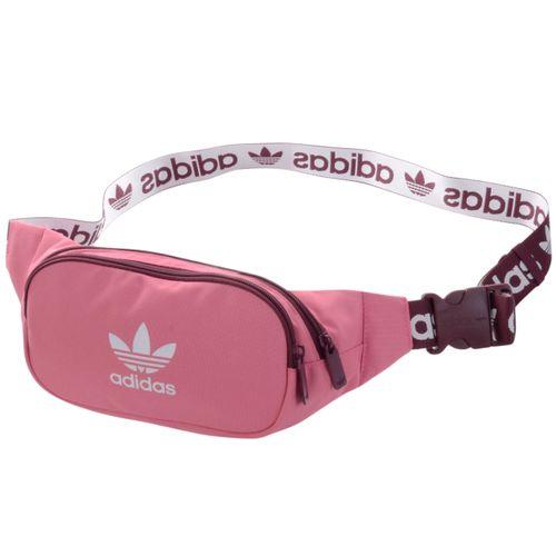 Pochete-Adidas-Adicolor-Branded-Webbing-Rosa