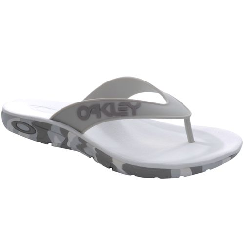 Chinelo-Oakley-Rest-Mark-II-Camo-Cinza