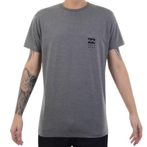 Camiseta-Billabong-Essential-Cinza