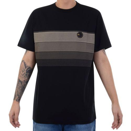 Camiseta-Quiksilver-New-Stripe-Preto