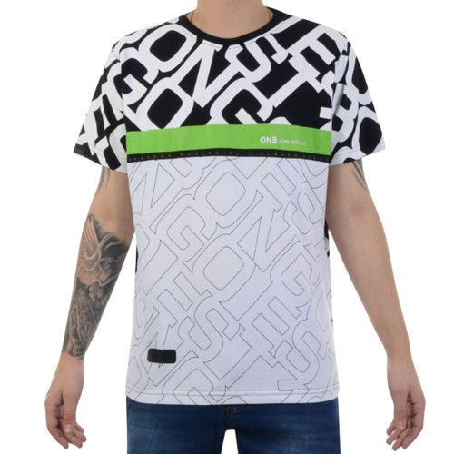 Camiseta-Onbongo-Alive-Since-988-Preto-Verde