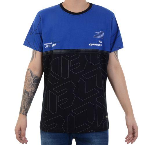 Camiseta-Onbongo-Ocean-Club-Preto