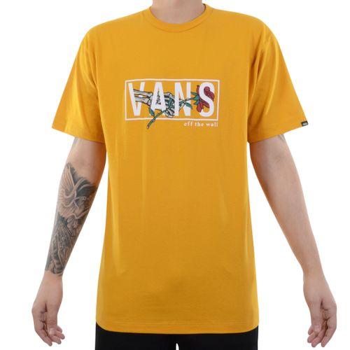 Camiseta-Vans-Thorned-SS-Amarelo
