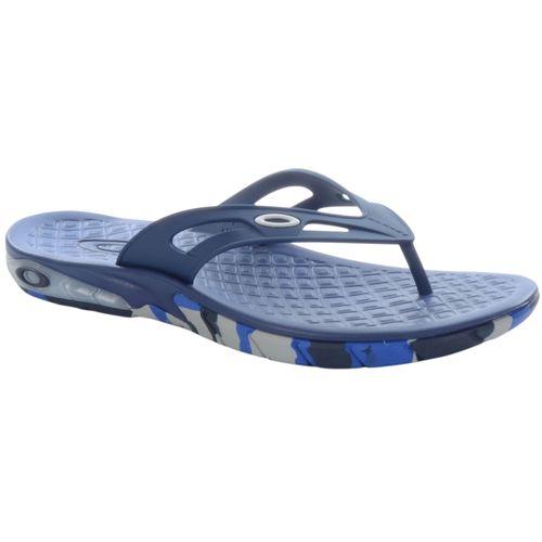 Chinelo-Oakley-Killer-Point-Camo-Masculino-Azul