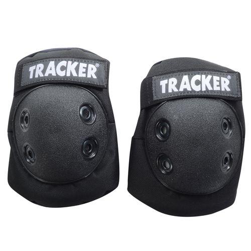 Cotoveleira-Tracker-Infantil-Preta